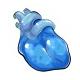 Blueberry Gummy Heart