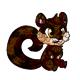 Brown Snookle Pinata
