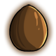 Brown Glowing Egg