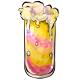 Bubbly Strawberry Banana Smoothie