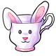 Bunny Teacup
