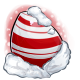 Candycane Glowing Egg