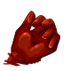 Cherry Gummy Hand