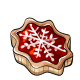 Cherry Snowflake Tart