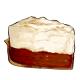 Slice of Chocolate Cream Pie