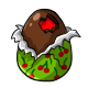 Chocolate Cherry Easter Egg