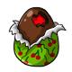 Chocolate Cherry Easter Egg