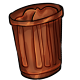 Chocolate Garbage Can