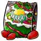 Christmas Tree Potato Chips