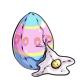Cracked Easter Egg Plushie