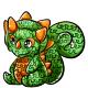 Green Decadal Pinata