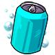 Empty Aqua Drink