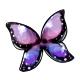 Dusk Morpho Butterfly Wings