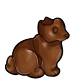Milk Chocolate Earless Bunny