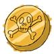 Fake One Thousand Dukka Coin