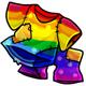 Fake Rainbow Costume