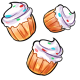 Falling Cupcakes