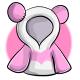 Long Pink Panda Hoodie