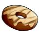 Fresh Chocolate Drizzle Doughnut