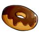 Fresh Chocolate Iced Donut