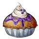 Glazed Blueberry Pie