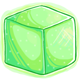 Glowing Sugar Cube