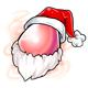 Santa Glowing Egg