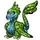 Green Gobble Pinata