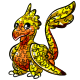 Yellow Gobble Pinata
