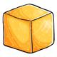 Gold Sugar Cube