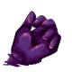 Grape Gummy Hand