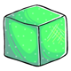 Green Sugar Cube