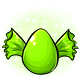Green Candy Glowing Egg