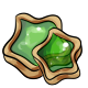 Green Star Cookie