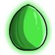 Green Glowing Egg