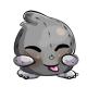 Grey Xoi Plushie