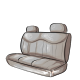 Grey Back Seat