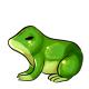 Lime Gummy Frog