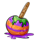 Halloween Candy Apple