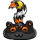 Halloween Snookle Tail