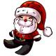 Handmade Santa Claus Plushie