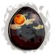Haunted Moon Glowing Egg