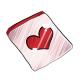 Heart Face Sticker