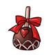Dark Chocolate Heart Truffle