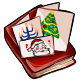Book of Christmas Cards