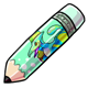 Ike Jumbo Pencil