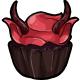 Krampus Cupcake