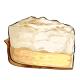 Slice of Lemon Cream Pie