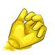 Lemon Gummy Hand