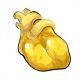 Lemon Gummy Heart